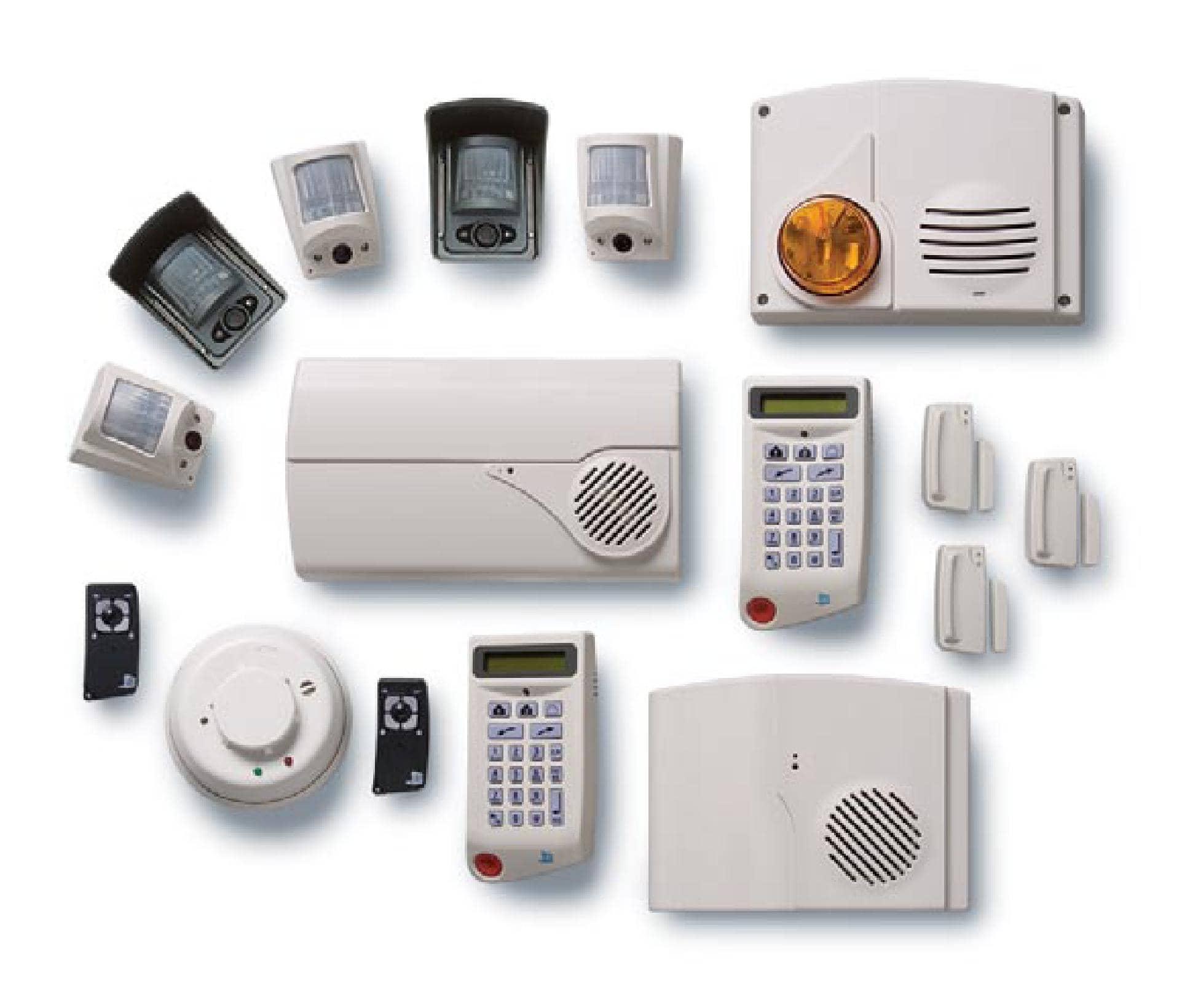 Instalación de alarmas de interior
