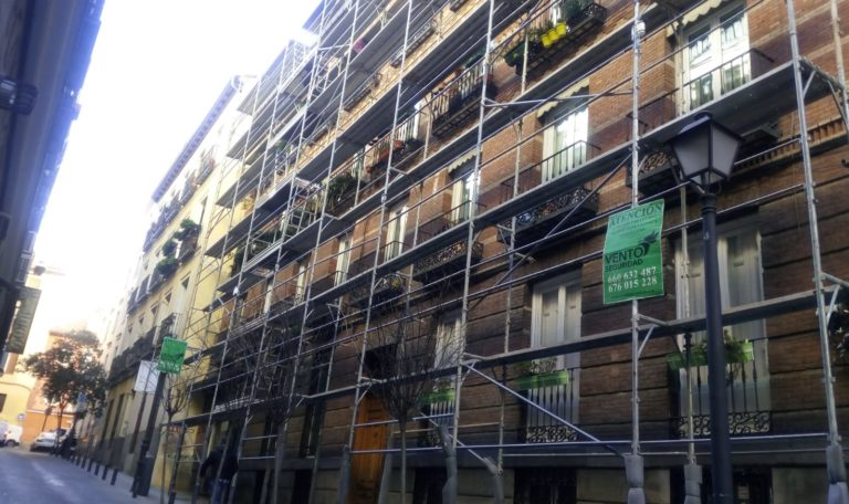 ALARMA PARA ANDAMIO EN MADRID